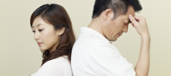 離婚する夫婦